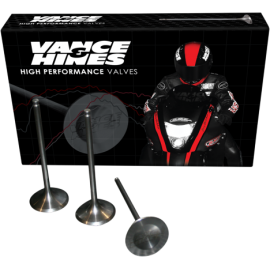 Vance & Hines steel exhaust valves