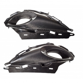 """Drag Light"" Carbon fiber Big air intakes Hayabusa Gen 2"