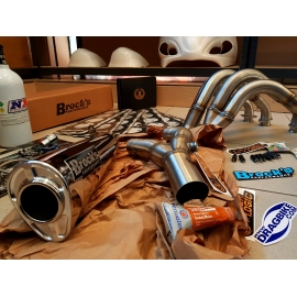 Brocks Alien Head 2 Full Exhaust Kawasaki ZX14 14'' (08-16)